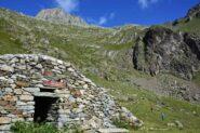 Alpeggio Marmottin e parte superiore del percorso di salita