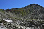Il Mont de la Tsa salendo verso il Col de Marmottin