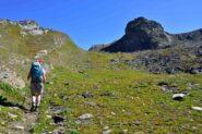 Salendo verso la Rocca del Nigro
