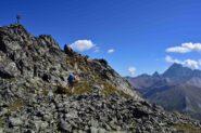 Verso la vetta della Rocca del Nigro