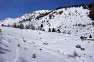 Salendo da Vetan verso l'Alpe Loè
