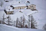 Discesa nel vallone di Menouve - Alpe Ponteilles Desot (m 1809)