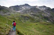 Col de Croux (m 2696) - Veduta verso il Bec de Nana