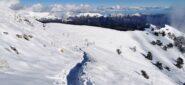 scendendo al Colle della Melosa lungo il sentiero che sale al Rifugio Monte Grai