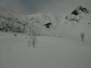 Distacco notevole sotto il Monte Giosolette