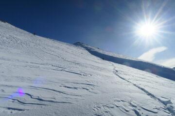 neve ventata nella parte alta