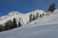 alpeggio con vista tra Challancin e Les Ors