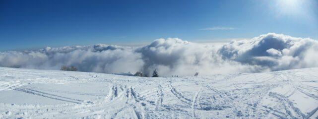 Nebbia in arrivo dalla pianura