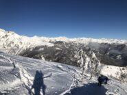 Paesaggio verso la Val di Susa.