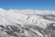 panorama da vetta su alta val susa