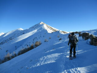 Monte Fronte' dal Passo Garlenda