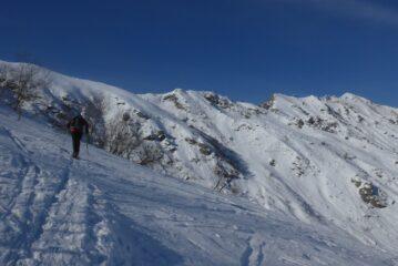 La cresta fino a Montù