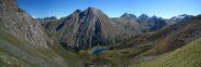 Dal Colle di Lavodilec, vista sull'omonimo lago sottostante