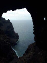 La sottostante Playa Barranco Seco