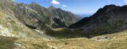 La Valchiusella vista in discesa dal Colle