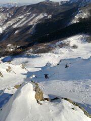 appenatolti gli sci