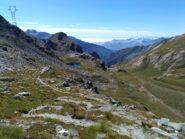 Il Vallone di Piamprato percorso, dal Col Laris