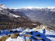 Imbocco VdA dalla Cavallaria.