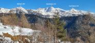 visuale panoramica da Valcona Soprana