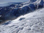 La Val Savenca dalla cima.