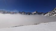 le vette fuori dalle nebbie