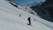 la dietro il  Passo Barra della Vagliotta (2420m)