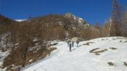 L'arrivo del vecchio ski-lift