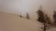 Fuori dalle nebbie oltre quota 2.100
