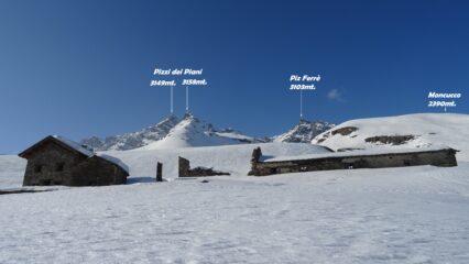 Passiamo all'Alpe dei Piani 2070mt.