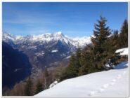 Panorama dall'alpe Genuina