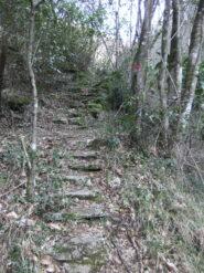 Inizio scalinata dei 1000 gradini