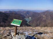 In cima al Monte Lago