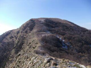 Sul crinale verso l' Alpesisa