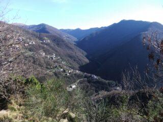 Val Bisagno dal Monte Caviglia