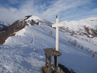 il Ricordone dalla Roccia la Croce..