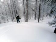 neve fresca su fondo liscio...il top!