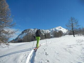 Monte Corbioun sullo sfondo