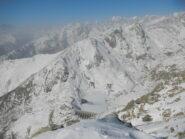 dalla cima vista sul Lago d'Eugio