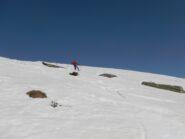 passo di telemark sotto l'Alpe Testona