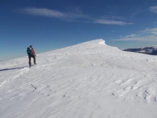 la sommità della cima Artesinera