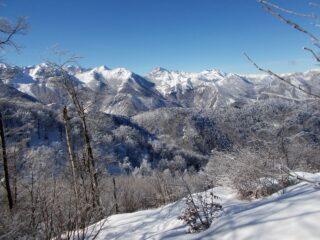 vista dal Monte Pena