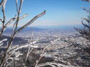 Cuneo e pianura dal Monte Pena