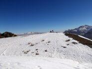 la  piatta cima del Monte Estelletta