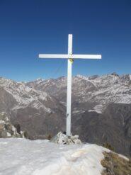 la croce sul Monte Midia