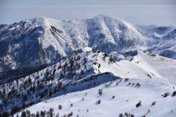 Cima Garlenda e Monte Fronté dalla Cima Missun