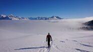Quota 2200, siamo sopra le nuvole
