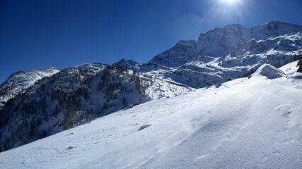 Levanne dai pressi dell'alpe Moteciousir.