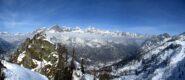 Tutto lo spartiacque tra valle Orco e valle d'Aosta.