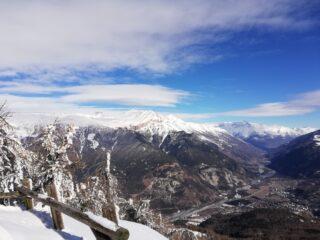 Situazione neve in Val Susa
