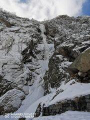 Vista della cascata